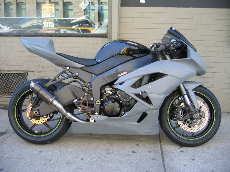 kawasaki ninja zx6r monster edition. It#39;s the monster edition,